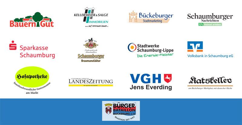 Sponsoren und Partner des Bürgerbataillons